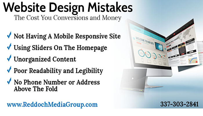 5 Web Design Mistakes That Cost You Conversions and Money
